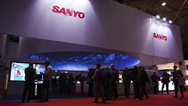 SANYO 360° Projektion für ISE