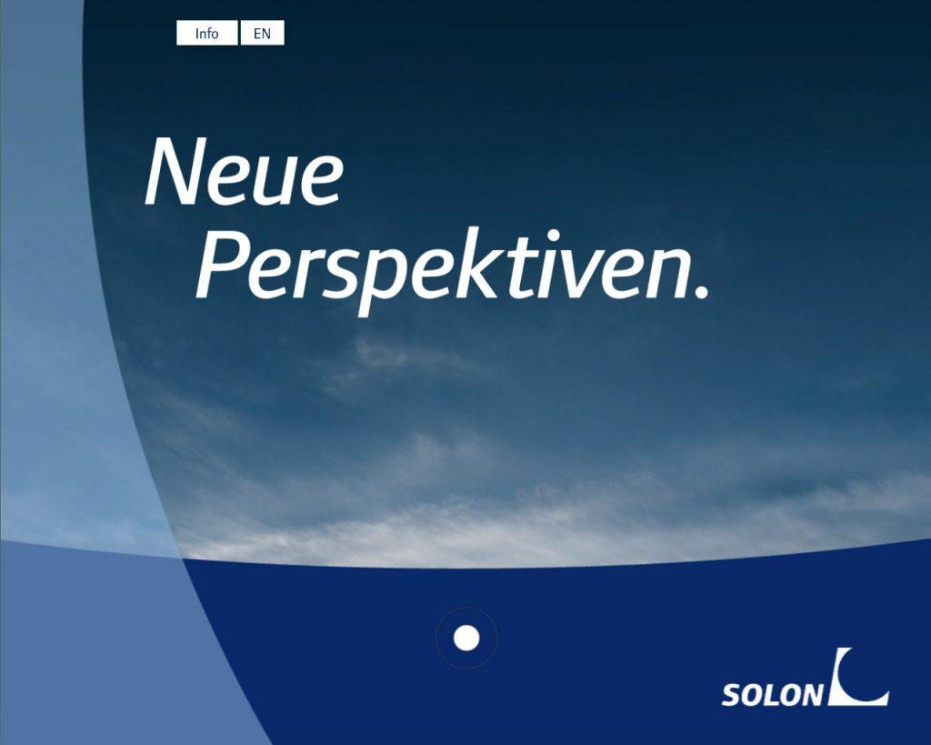 SOLON Produkt-Präsentations-App