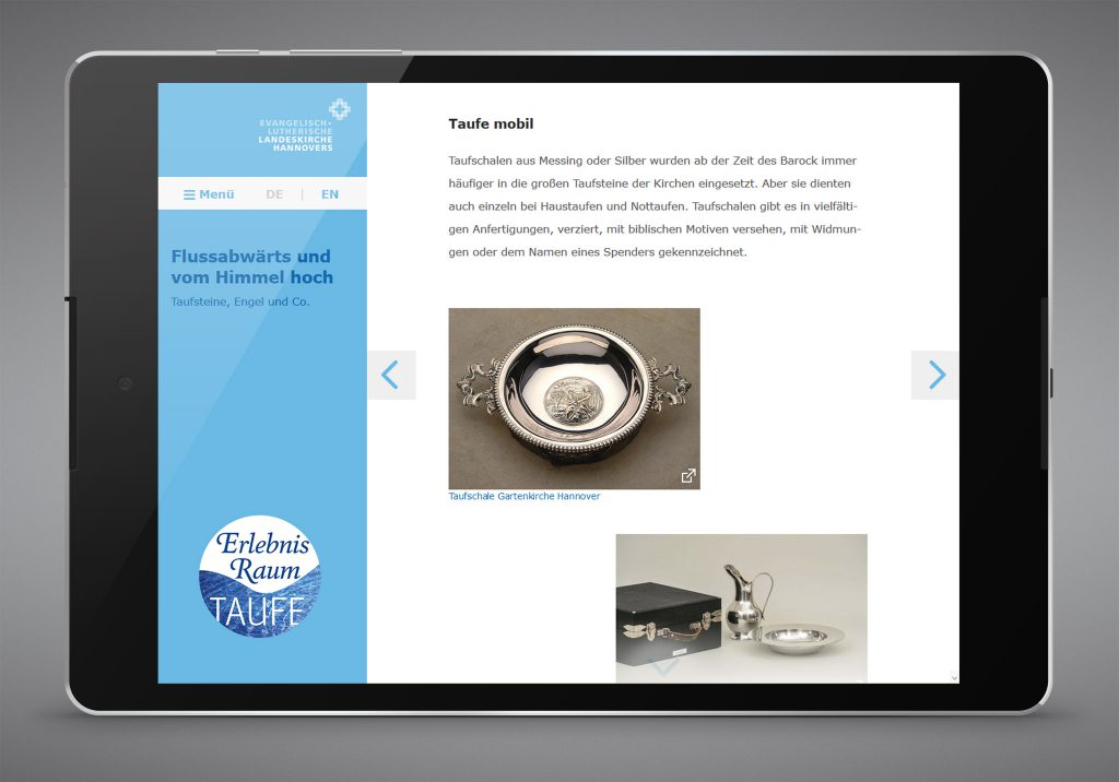 Landeskirche Hannover - Taufe App